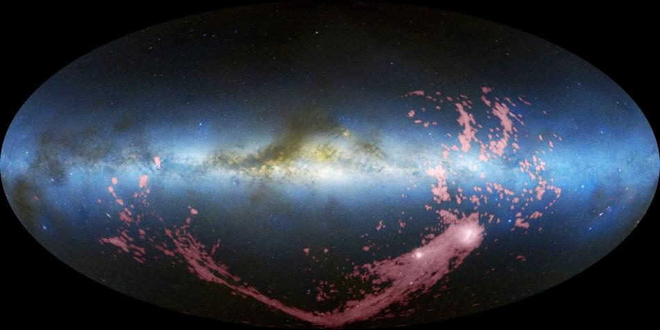 """Resultado de imagen de Un grupo de astrónomos que utilizó telescopios de ESO anunció en abril una sorprendente falta de """"materia oscura"""" en la galaxia dentro de la vecindad del Sistema Solar"""""""